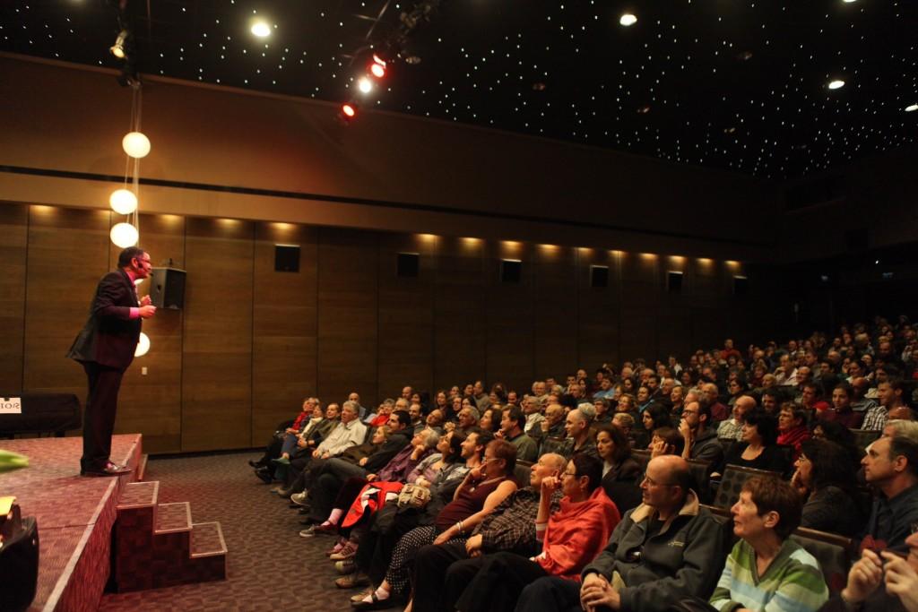 ליאור מנור מול הקהל
